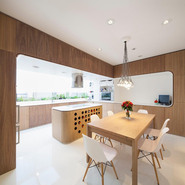 open plan dining room design