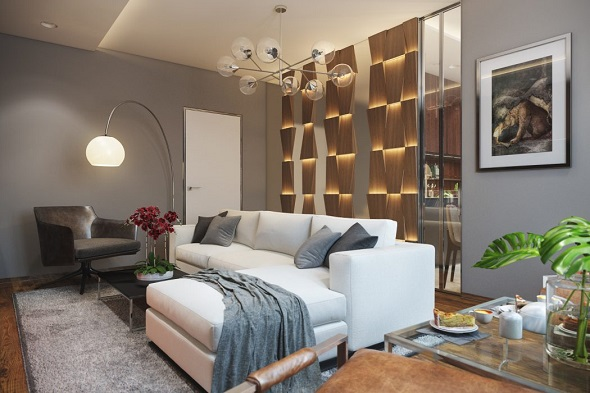 Amazing interior design for living room