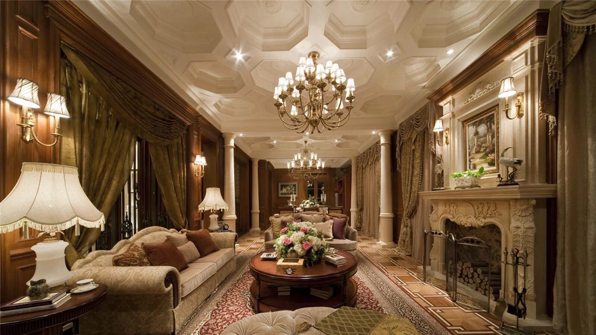 Luxury living room design idea