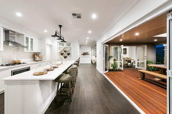 Beautiful kitchen designs by Plunkett Homes