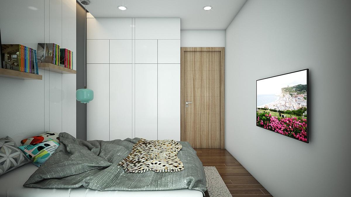 bedroom white closets light