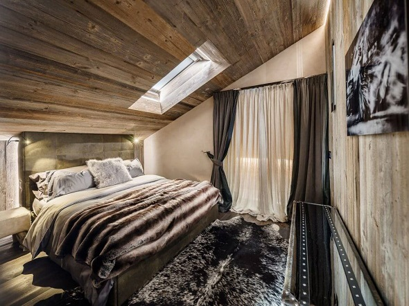 Contemporary bedroom interior by ZWD-Projects