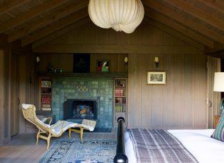 Contemporary interior bedroom design