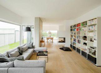 Contemporary two-storey house design
