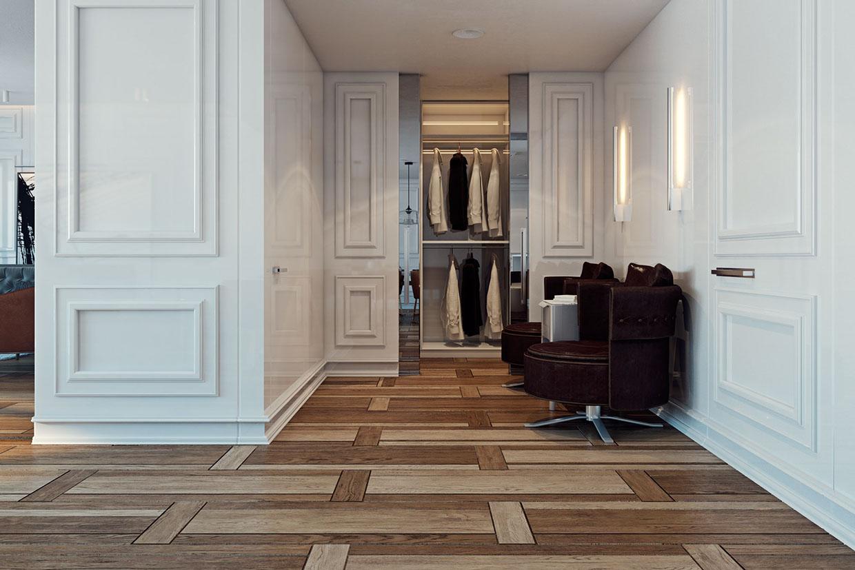 Wood flooring design