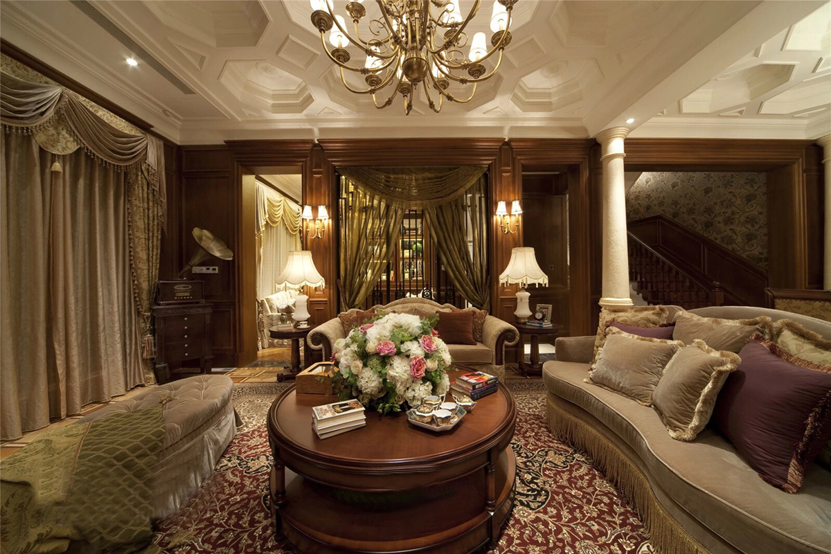Classic home designs ideas with cozy interior style roohome designs plans - Cozy interior design ideas ...