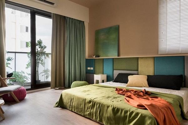Japanese bedroom idea