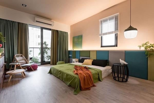 Japanese bedroom style