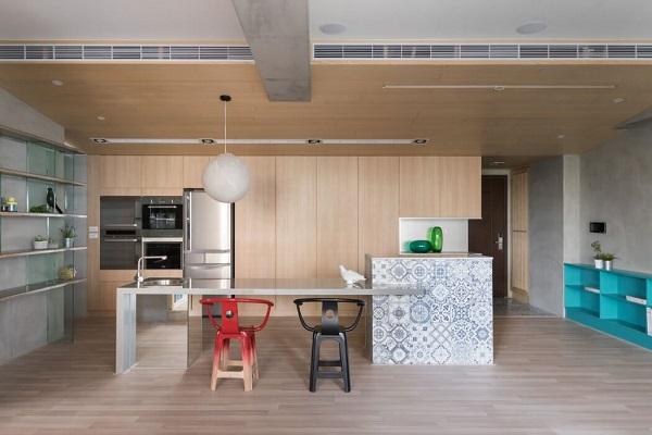 Japanese kitchen interior