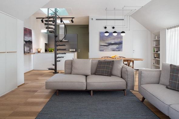 Inspiring contemporary apartment interior design ideas bring smart decorating and modern tips - Andrea castrignano interior designer ...
