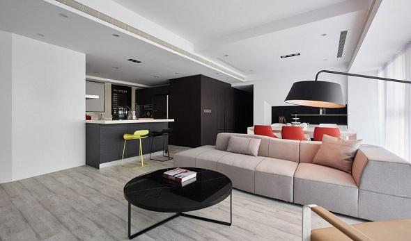 Minimalist apartment furniture