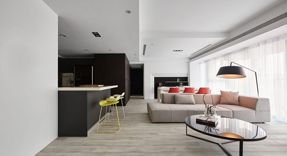minimalist apartment interior design - Minimalist Apartment Design