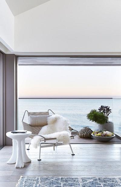 Minimalist bedroom concept