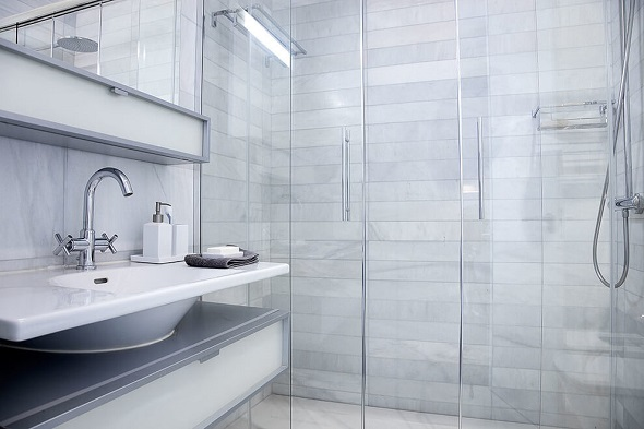 Modern bathroom design
