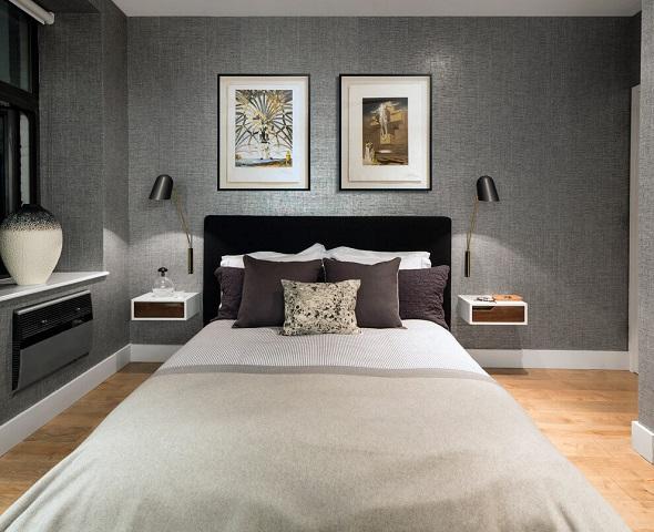 Modern bedroom design decoration