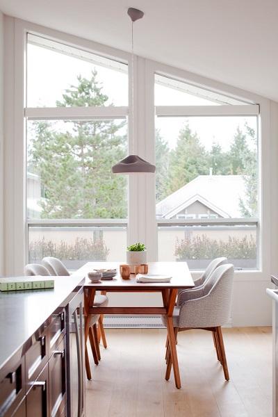 Modern dining room minimalist
