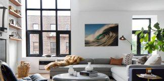 Modern home design decoration