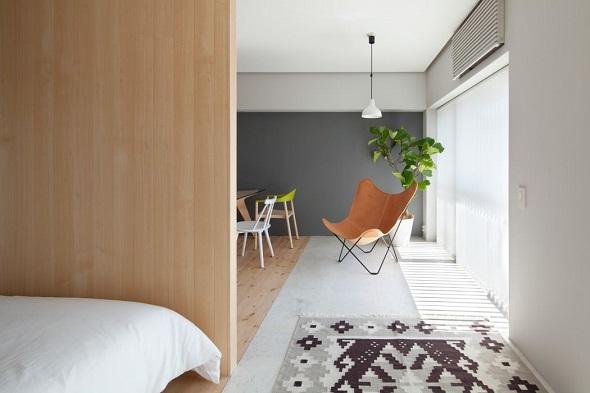 Modern interior design for bedroom