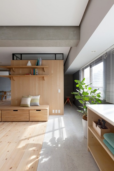 Applying modern interior design ideas with japanese style for small apartment roohome - Interior design for small space apartment image ...