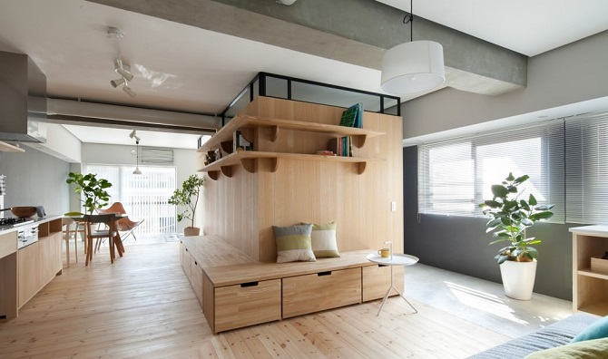 Applying Modern Interior Design Ideas With Japanese Style For Small ...