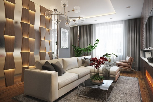 Modern interior ideas for living room