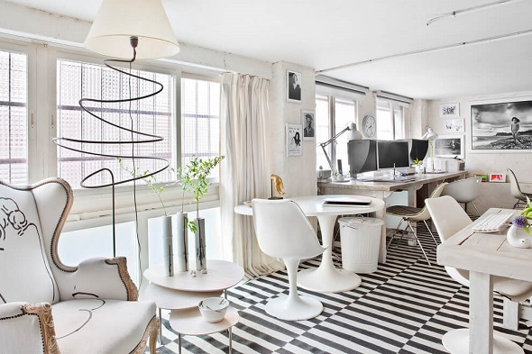 Modern workspace interior ideas