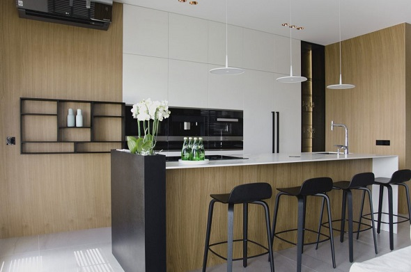 Simple kitchen interior design