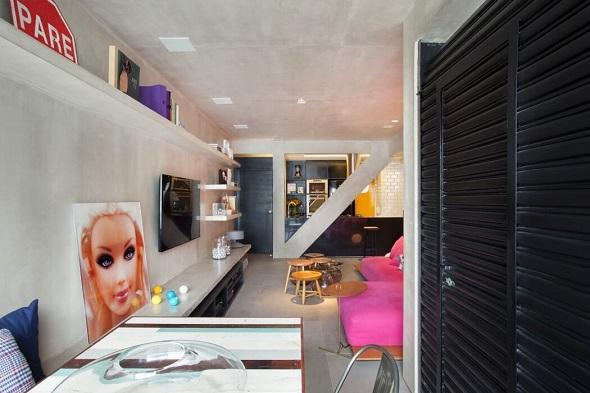 Small apartment creative interior