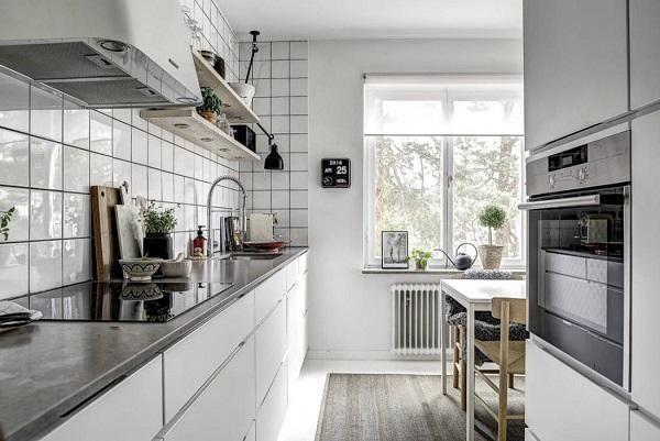Small apartment decor for kitchen