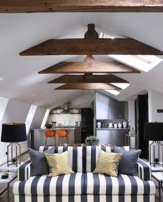 Small apartment interior design by Peek Architecture