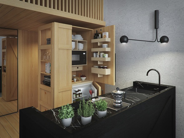 Combining Small Apartment Decorating With Multifunctional Japanese Style Ideas In It Roohome