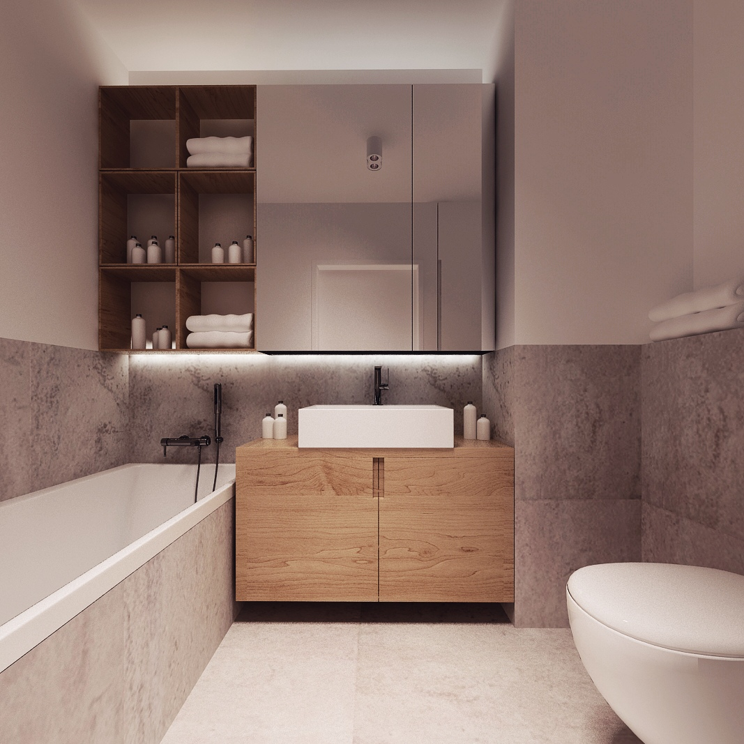 Simple And Minimalist Design For Decorating Small Bathroom Ideas Will Provide Its Own Uniqueness