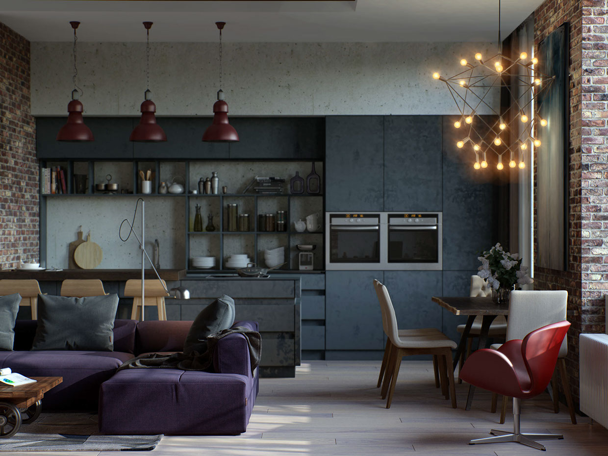 small kitchen apartment design