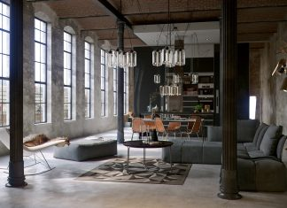 industrial apartment design
