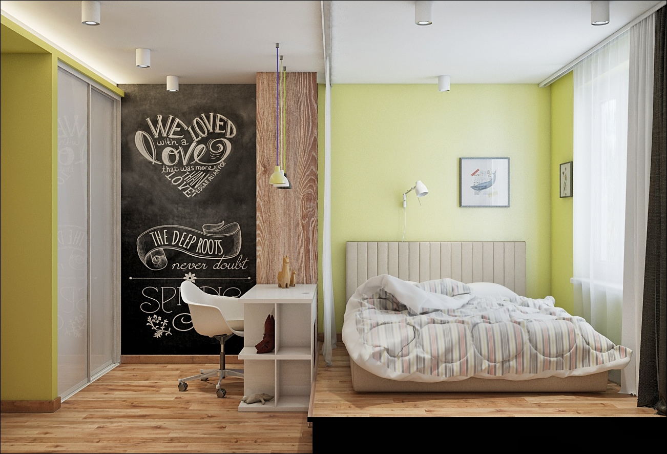 modern wooden bedroom design