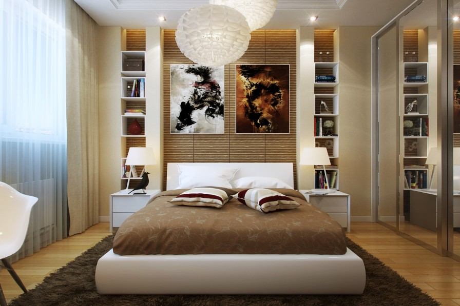 small wooden bedroom decor