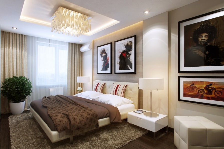 Tips How To Arrange Small Bedroom Designs Using