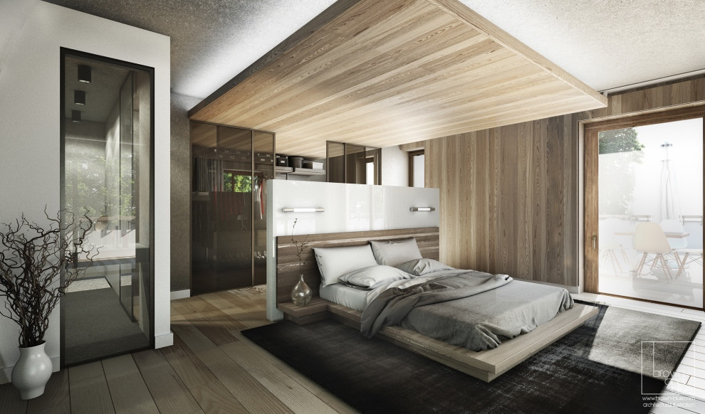 beautiful wooden bedroom design