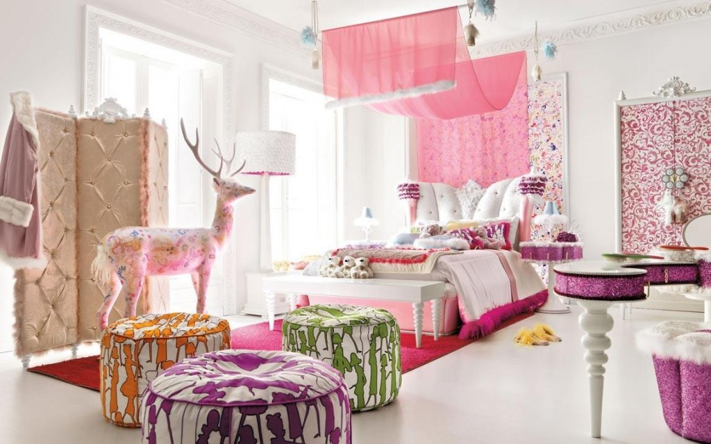 cute girls bedroom sets design