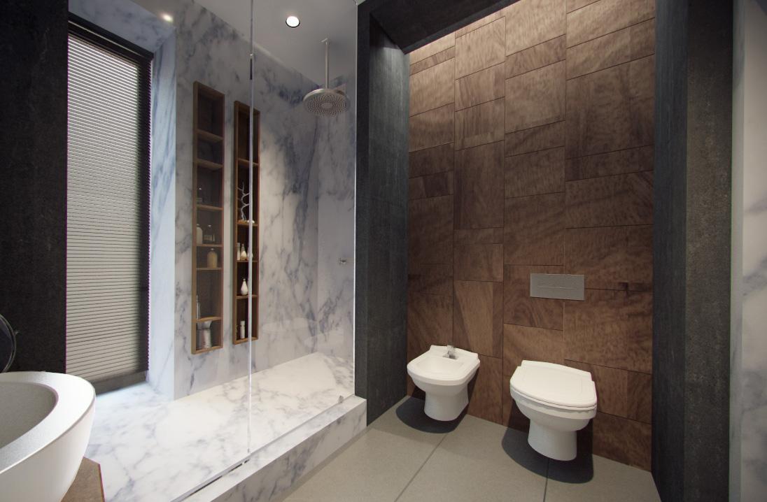minimalist bathroom decorating idea