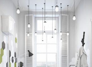 scandinavian white bathroom design
