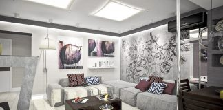 an artwork wall decorating ideas