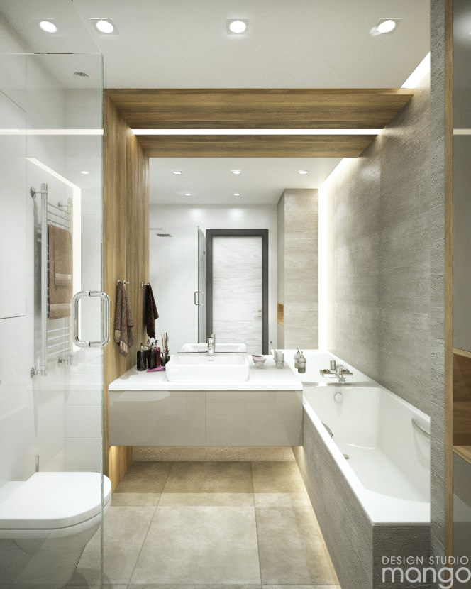 Minimalist Bathroom Design Pinterest: Simple And Minimalist Design For Decorating Small Bathroom