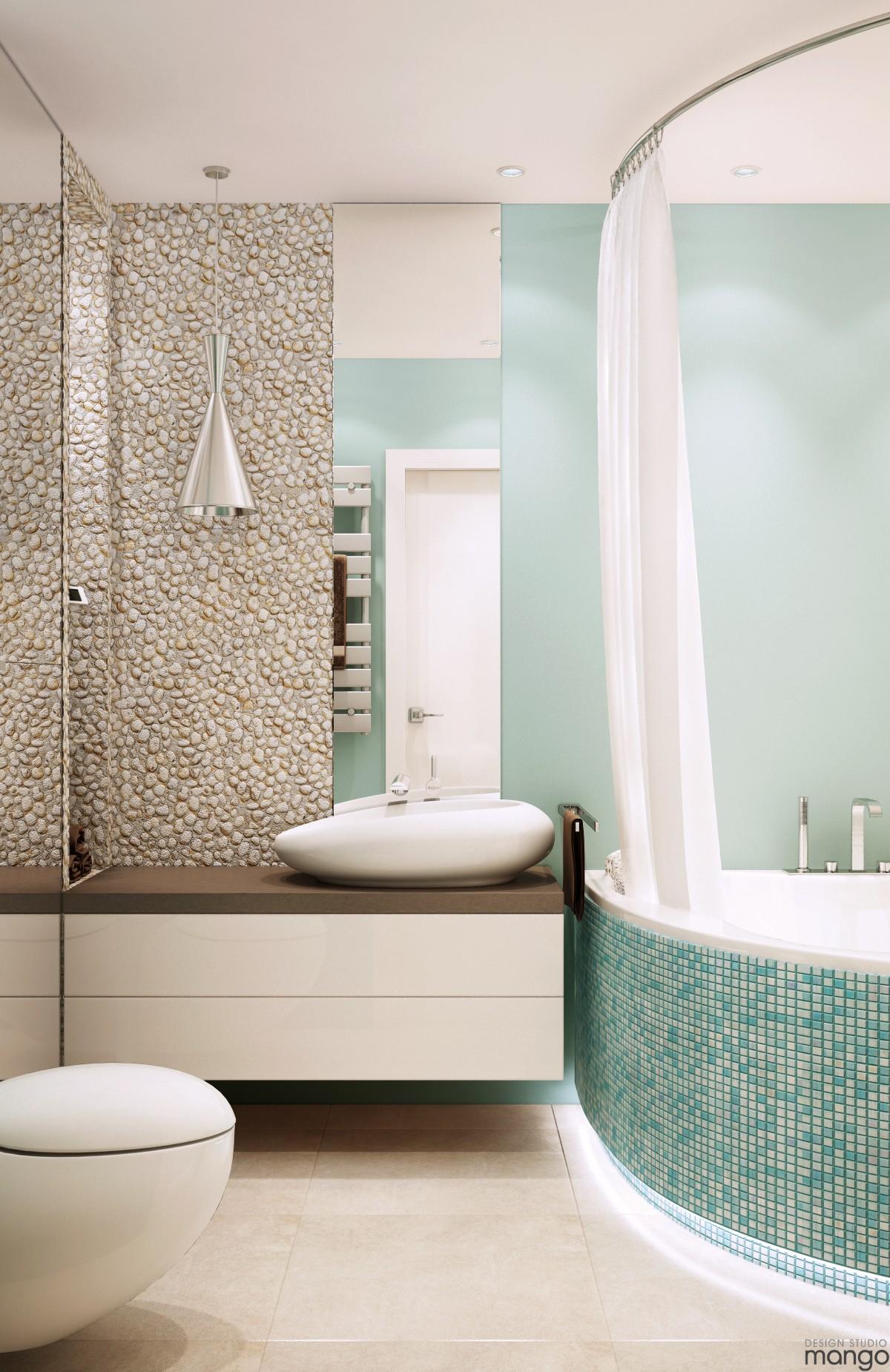 modern bathroom decorating
