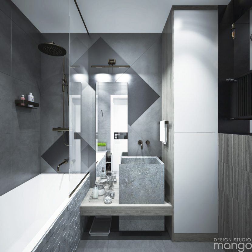 gray bathroom design ideas