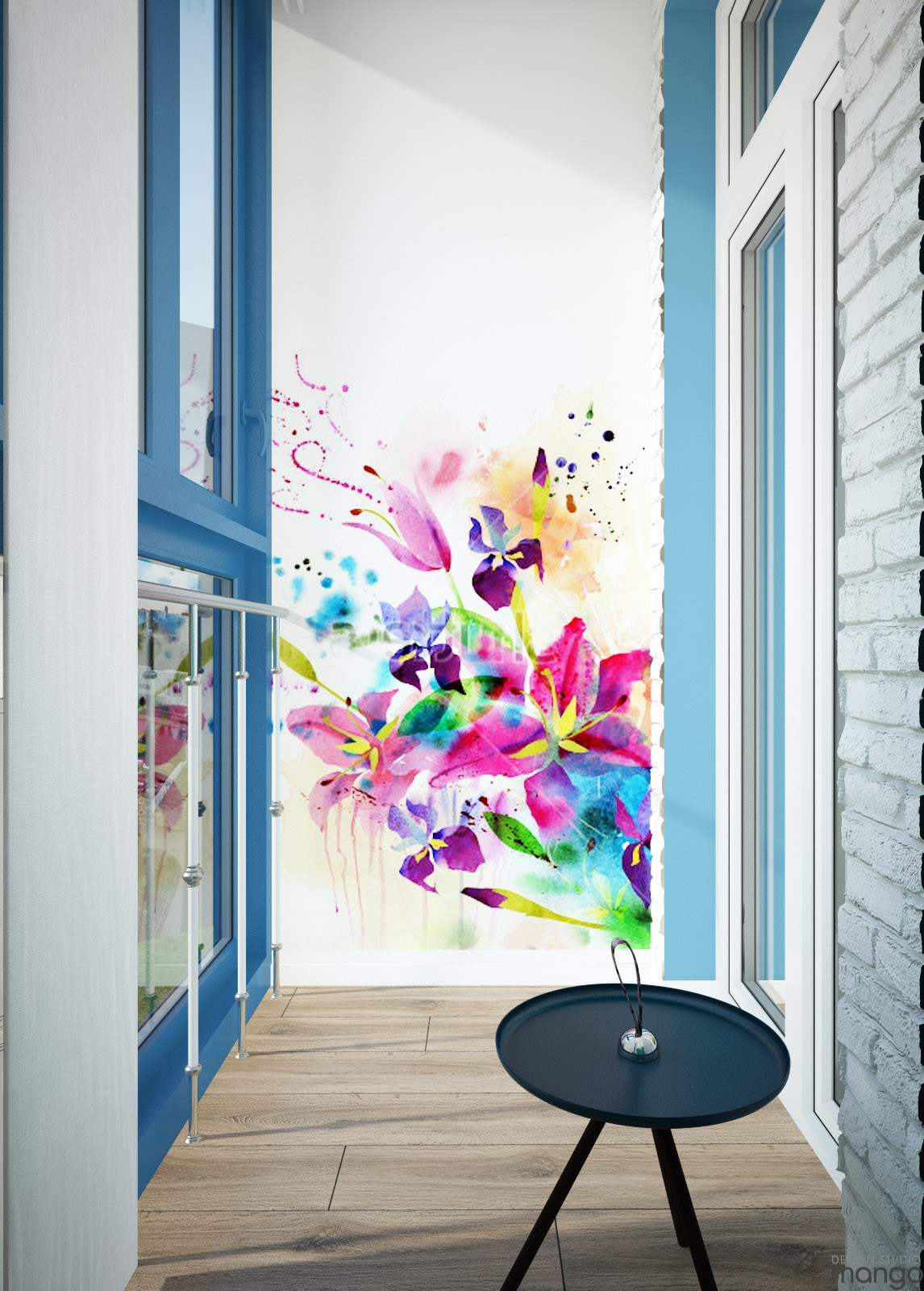 hall wall decoration