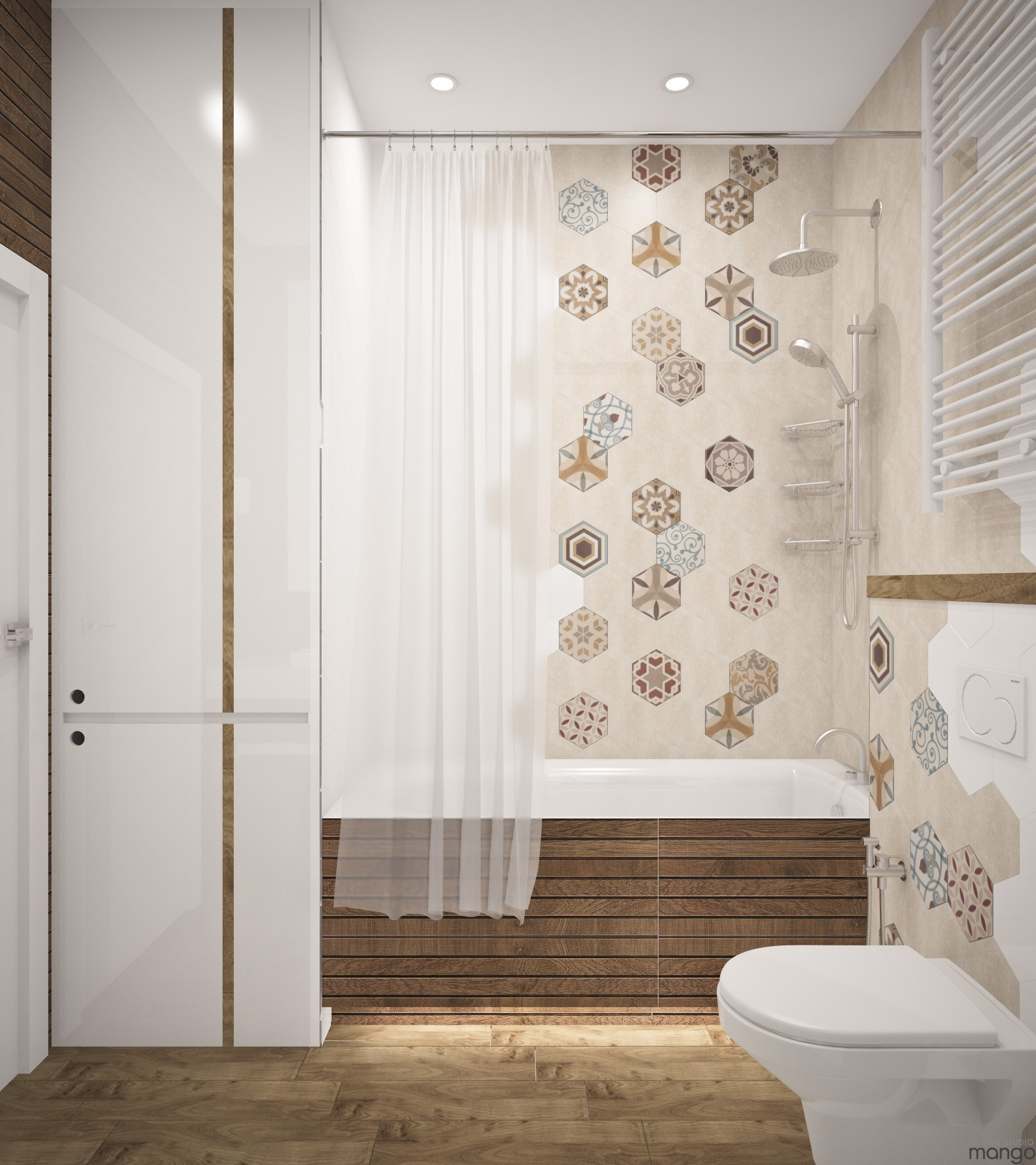 Simple Bathroom Decorating Ideas: A Suitable Simple Small Bathroom Designs Looks So Perfect And Spacious With A Smart Decor Ideas