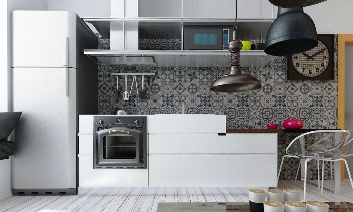 trendy backsplash decor