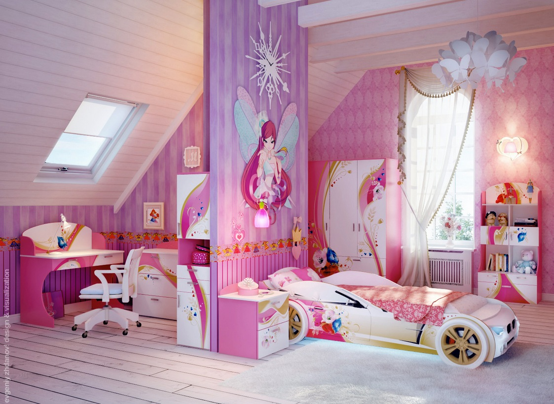 decorating fantastic girls bedroom