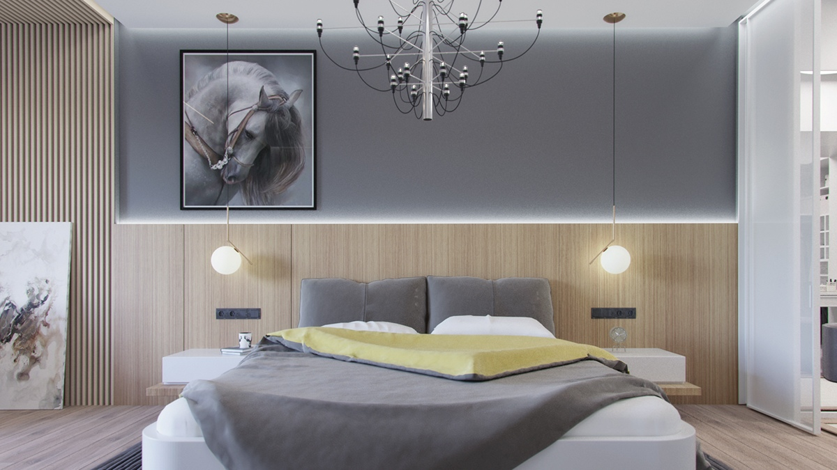 perfect gray bedroom design